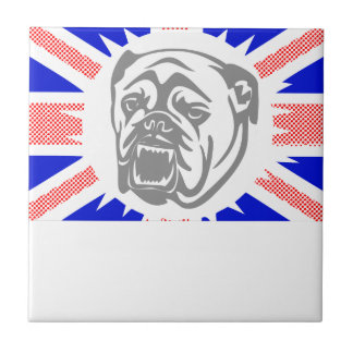 British Bulldog Tile