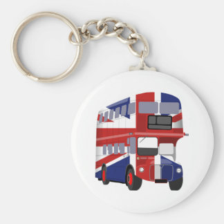 British Bus Keychain