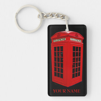 British callbox keychain