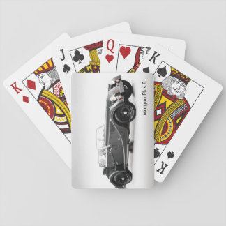 British car image for Classic Playing Cards
