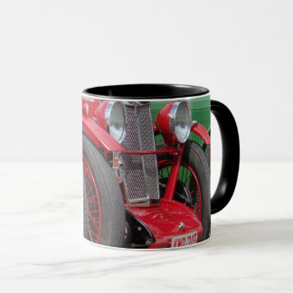 British cars, 1930ties, photo Jean Louis Glineur Mug