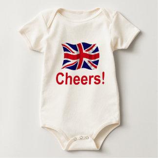British Cheers! Baby Bodysuit