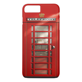 British City of London Red Phone Booth iPhone 7 iPhone 7 Plus Case