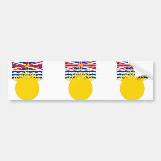 British Columbia, Canada Bumper Sticker