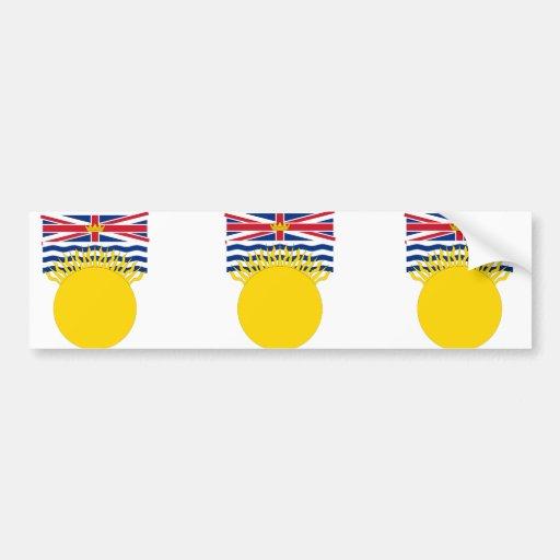 British Columbia, Canada Bumper Stickers