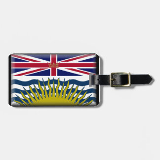 British Columbia (Canada) Flag Luggage Tag