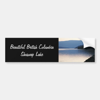 British Columbia Canada Shuswap Lake Bumper Sticker