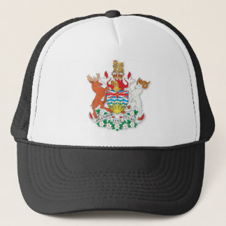 British Columbia coat of arms Trucker Hat