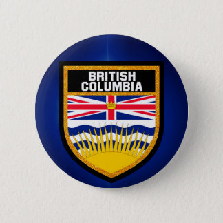 British Columbia Flag 2 Inch Round Button