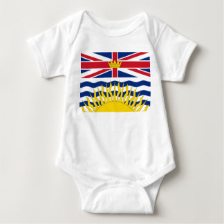 British Columbia Flag Baby Bodysuit