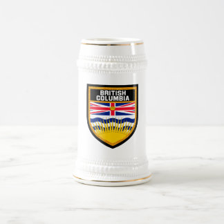 British Columbia Flag Beer Stein