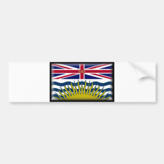 British Columbia Flag Bumper Sticker