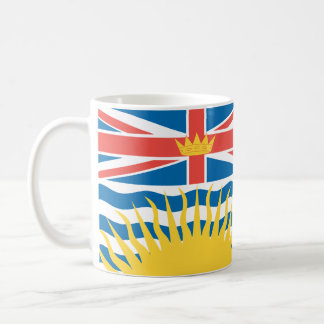 BRITISH COLUMBIA Flag Coffee Mug