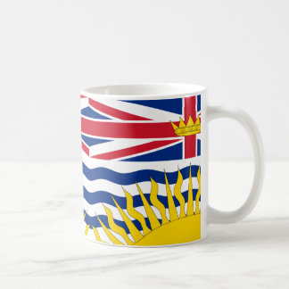 British Columbia flag Mug