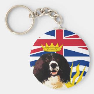 British Columbia Springer Spaniel Basic Round Button Keychain