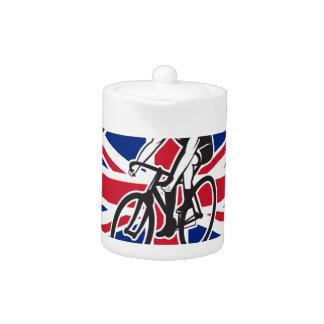 British Cyclist Cycling Union Jack Flag Icon
