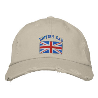 British dad embroidered hat