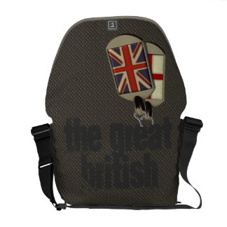 British Dog Tags Commuter Bags