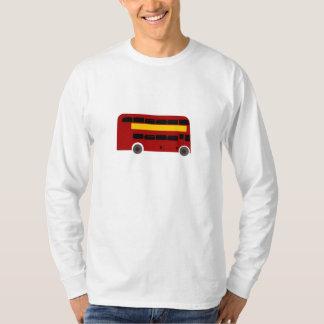 British Double-Decker Bus T-Shirt
