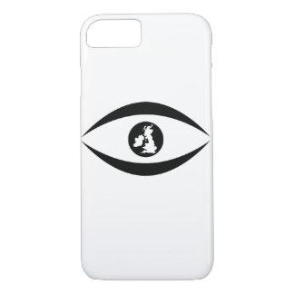British eye iPhone 8/7 case