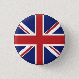 British Flag 1 Inch Round Button