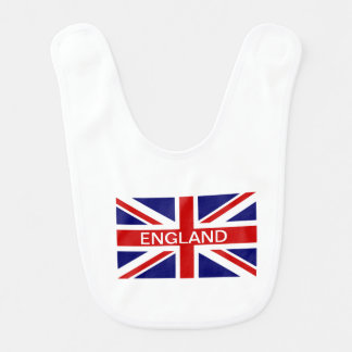 British flag baby bib | Union Jack design