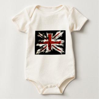 British Flag Baby Bodysuit