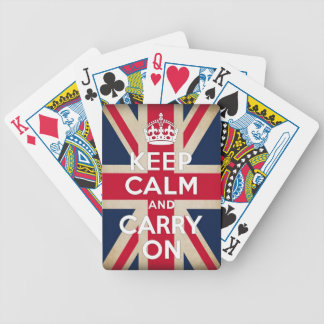 british flag bicycle playing cards