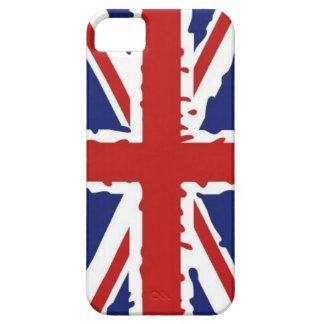 British flag code002 iPhone 5 covers