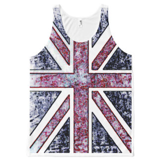 British Flag Distressed Look