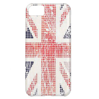 British Flag Distressed Vector iPhone Cover Cover For iPhone 5C