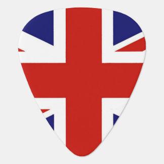 British Flag Guitar Pick