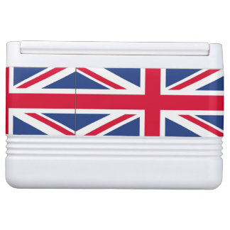 British Flag igloo can cooler