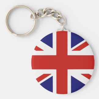 British flag keychain