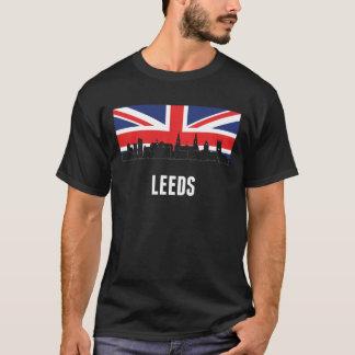 British Flag Leeds Skyline T-Shirt