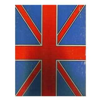 british flag letterhead