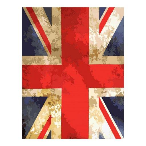 British Flag Letterhead