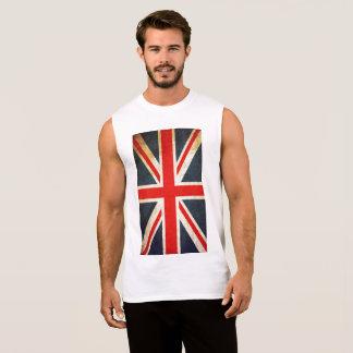 British Flag Men's Ultra Cotton Sleeveless T-Shirt