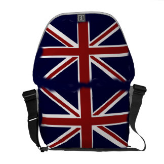 British Flag Messenger Courier Bag