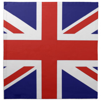 British flag napkin