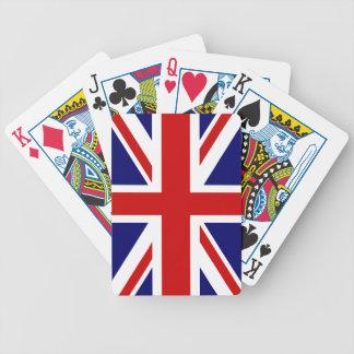 British flag playing cards | Union Jack design.