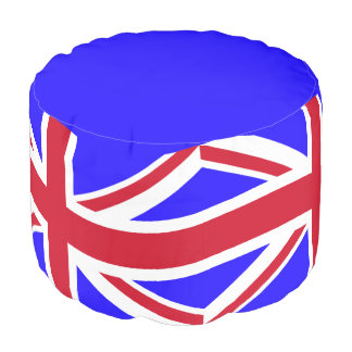 British flag pouf
