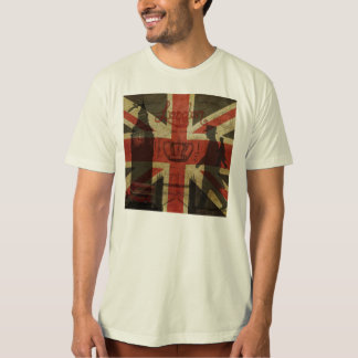 British Flag, Red Bus, Big Ben & Authors T-Shirt