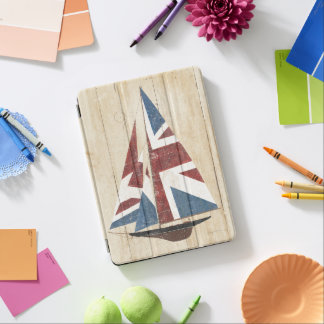 British Flag Sailboat 6 iPad Air Cover