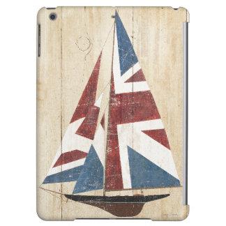 British Flag Sailboat Cover For iPad Air