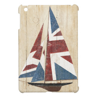 British Flag Sailboat iPad Mini Cover