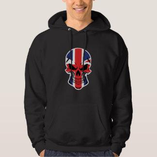 British Flag Skull Hoodie