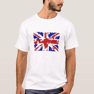 British Flag Splatter T-Shirt