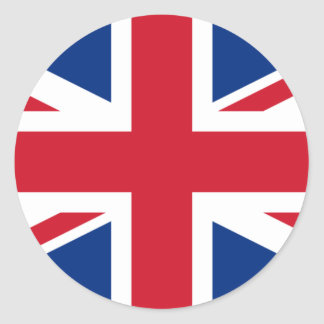 British flag sticker