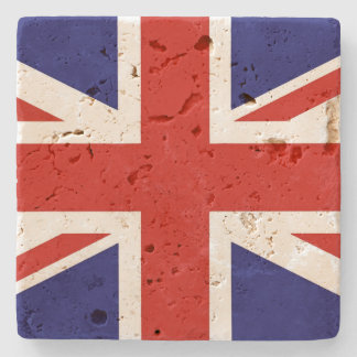 British Flag Stone Coaster